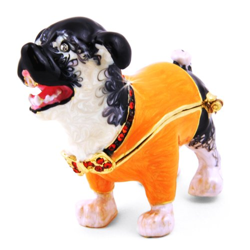 Fang Halloween Dog Trinket Box
