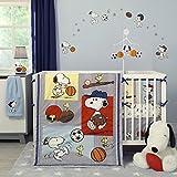 Bedtime Originals Snoopy Sports Bumper