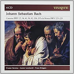 Bach: Cantatas Bwv 27 34 41 56 82 2