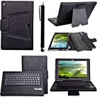 Happy Hours Wireless Bluetooth Keyboard Leather Stand Case For 10.1 Sony Xperia Tablet Z Plus Free Gift Stylus Pen