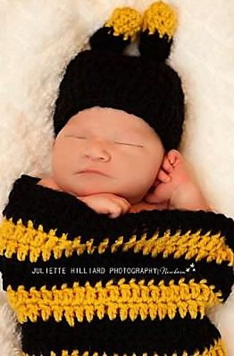 bumblebee cocoon and hat pattern