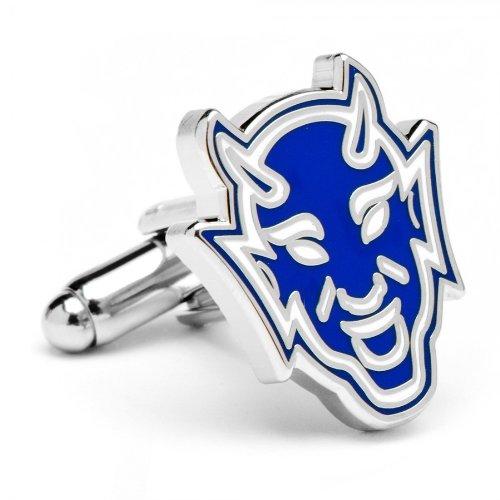 NCAA Officially Licensed University and College Team Logo Cufflinks, Duke Blue Devils Vintage