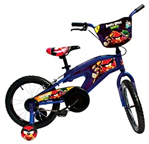 Angry Birds Bike, 16-Inch/One Size