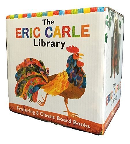 the-eric-carle-library-featuring-8-classic-board-books-boxed-set-the-greedy-python-the-foolish-toroi