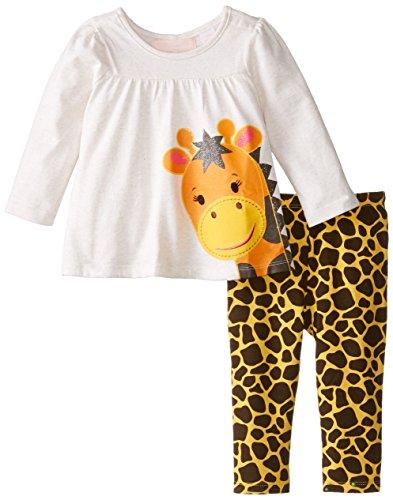 Tunic with Giraffe Head and Leggings