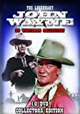 The Legendary John Wayne - 20 Westerns Collection 10 DVD Box Set [DVD]