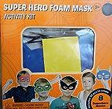 Halloween Superhero Masquerade Masks Decorations Foam Activity Kit Art Project Makes 8