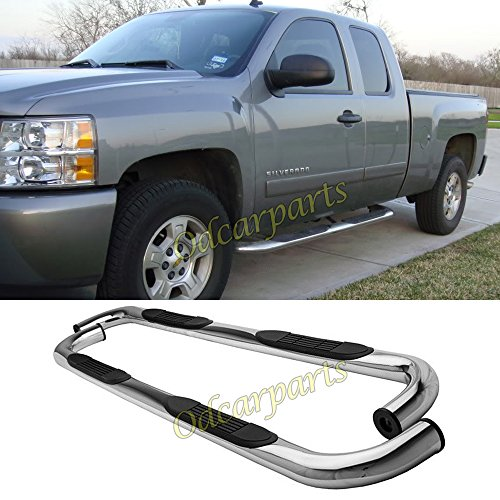 VioGi Fit:99-13 Silverado/Sierra 1500/2500/3500 Extended Cab (w/ 2 Full Size Front Doors+ 2 Half Size Rear Doors Only) 3