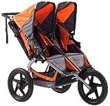 BOB Sport Utility Duallie Stroller, Orange