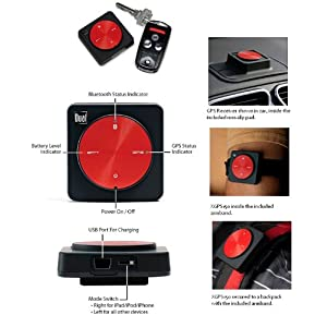 Dual Electronics XGPS150 Universal Bluetooth GPS Receiver for iPad 2, iPad, iPod touch, iPhone and Other Smartphones, Tablets and Laptops $98