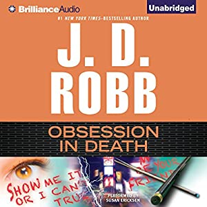 Obsession in Death Audiobook