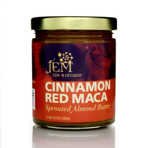 Organic Cinnamon Red Maca Almond Butter by Jem
