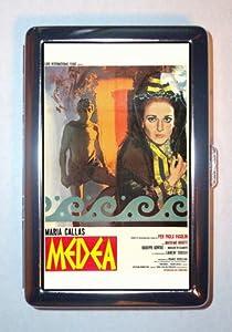 MARIA CALLAS MEDEA RETRO 1971 FILM POSTER Cigarette Case, ID Wallet USA MADE