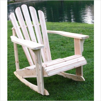 Westport Adirondack Rocker Chair Color: White