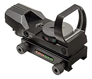 Truglo Red-Dot Sight Dual-Color 4-Reticle Black