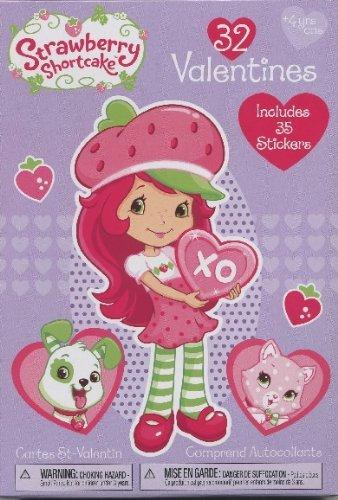 Imagen de Tarta de Fresa 32 Valentines (Incluye 35 pegatinas)
