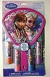 Disney Frozen Anna Elsa Girls 4 Lip Shine/gloss + 3d Hand Mirror Anna Elsa Olaf-brand New Factory Sealed!