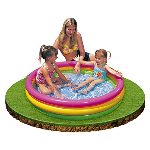 Mac due intex 57412 piscina 3 anelli color piscine - Amazon piscine gonfiabili ...