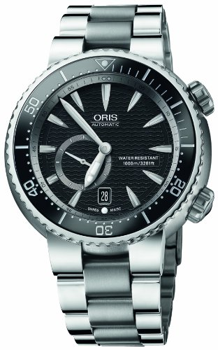 Oris Men's 643 7638 7454MB Divers Titan Small Second Date Watch