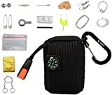 The-Friendly-Swede-Survival-Pod-Survival-Kit-inklusive-Drahtsge-Rettungsdecke-und-Paracord
