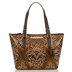 Medium Asher Tote<br>Brown Fresco