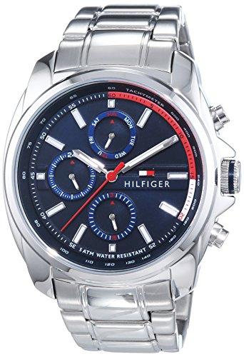 Tommy Hilfiger Watches Herren-Armbanduhr XL PRESTON Analog Quarz Edelstahl 1791081 thumbnail