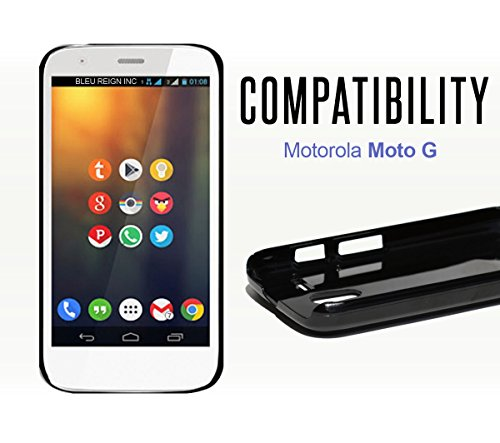BleuReign(TM) Hashtag Green Bay #GreenBay Football Team Plastic Phone Case Back Cover For Motorola Moto G from BleuReign