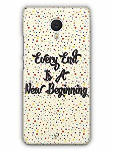 YuBingo Every End is a New Beginning Designer Mobile Case Back Cover for Yu Yunicorn