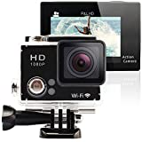 GeekPro® 2.0 Plus Sports Camera Full HD 1080P Diving Camcorder + Extra Battery WIFI 2.0inch 170°Wide Fisheye Sport Action DV Dash Cam Car DVR Sport Camera HDMI