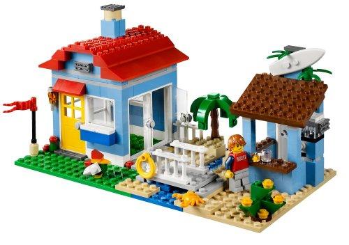 Lego creator 7346 jeu de construction la maison de la plage jouets po - Jeux de construction de villa ...