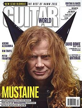 1-Yr. Guitar World Magazine Subscription