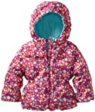 Amy Byer Outerwear Baby-Girls Infant Ditsy Print Jacket, Pink, 24 Months