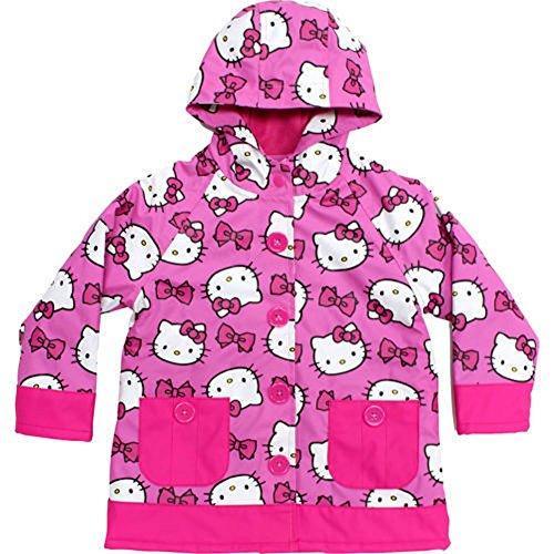 Western Chief Girls Hello Kitty Rain Coat Pink