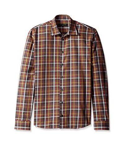 Lipson Men's Plaid Flannel Sportshirt