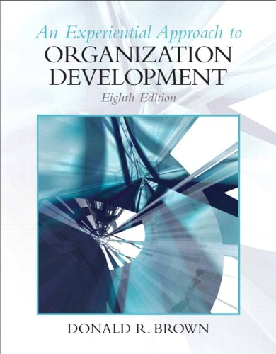 Experiential Approach to Organization Development (8th...