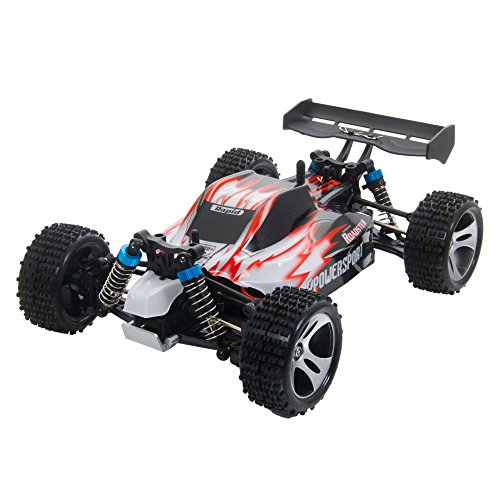Getmore A959A 1:18 2.4G 50Km/H Speed Electric Remote Control Four Wheel Drive Suvs Rc Car Red