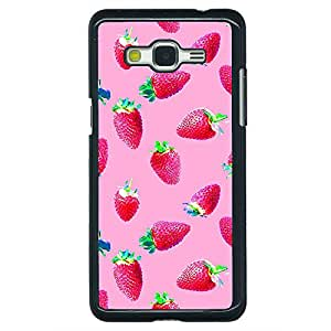 Jugaaduu Strawberry Pattern Back Cover Case For Samsung Galaxy Grand Prime G530H