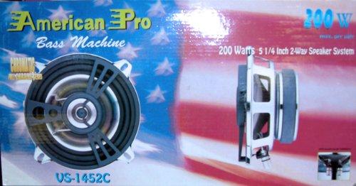 "American Pro Vs-1442C 4"" 2-Way Car Speaker Pair"