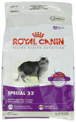 Image of Royal Canin Dry Cat Food, Special 33 Formula, 7-Pound Bag