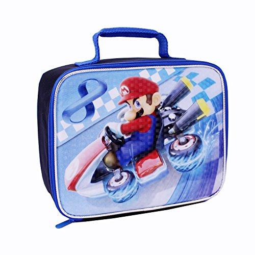 Global Design Concepts Mario Kart Lunch Kit, Blue/Black - 1
