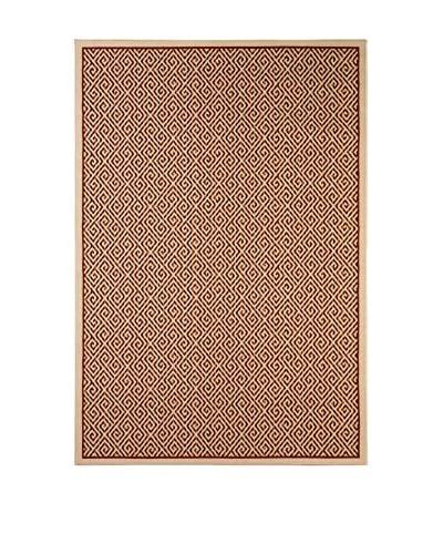 Tapis a Porter Läufer Veranda elfenbein/ziegelrot 80 x 230 cm