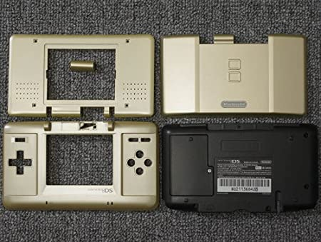 Zelda Gold Original Nintendo DS Complete Full Housing Shell Case Replacement Repair Fix [video games]