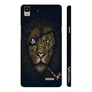Oppo R7 Lite Lion Piracy designer mobile hard shell case by Enthopia
