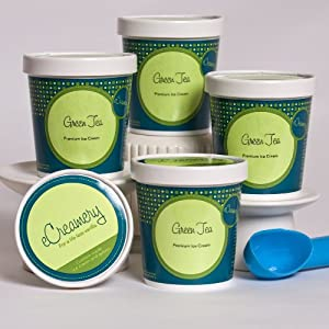 eCreamery Classic Green Tea - Ice Cream
