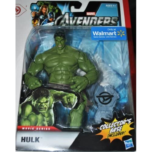 Marvel The Avengers Exclusive Movie Series Hulk Action Figure by Hasbro (English Manual)