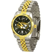 "Missouri Tigers NCAA AnoChrome ""Executive"" Mens Watch"