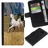 Planetar® Credit Card Slots PU Wallet Pouch Housse de protection Skin Cas Case Coque