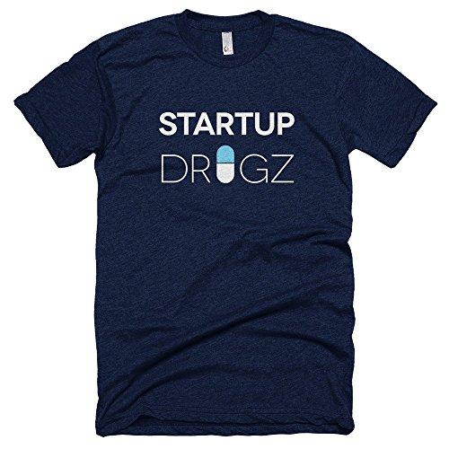 Startup-Drugz-Shirt-Male-T-Shirts-Navy