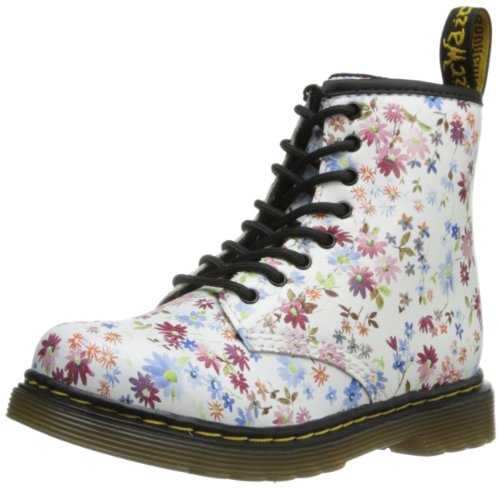 Dr. Martens Brooklee Boot (Toddler),Blue Little Flowers,9 Uk(10 M Us Toddler)