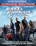 Fast & Furious 6 / Rapides et Dangereux 6 (Extended Edition) [Blu-ray + DVD + Ultraviolet]